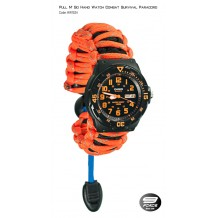 Pull N' Go Hand Watch Survival Paracord (1 Year warranty) - HW1524